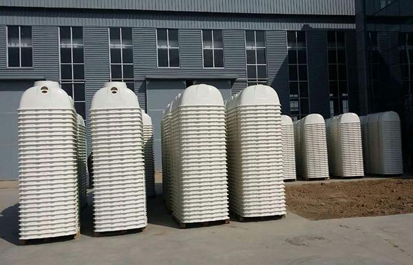玻璃钢化粪池对有机物的原始净化功能优点