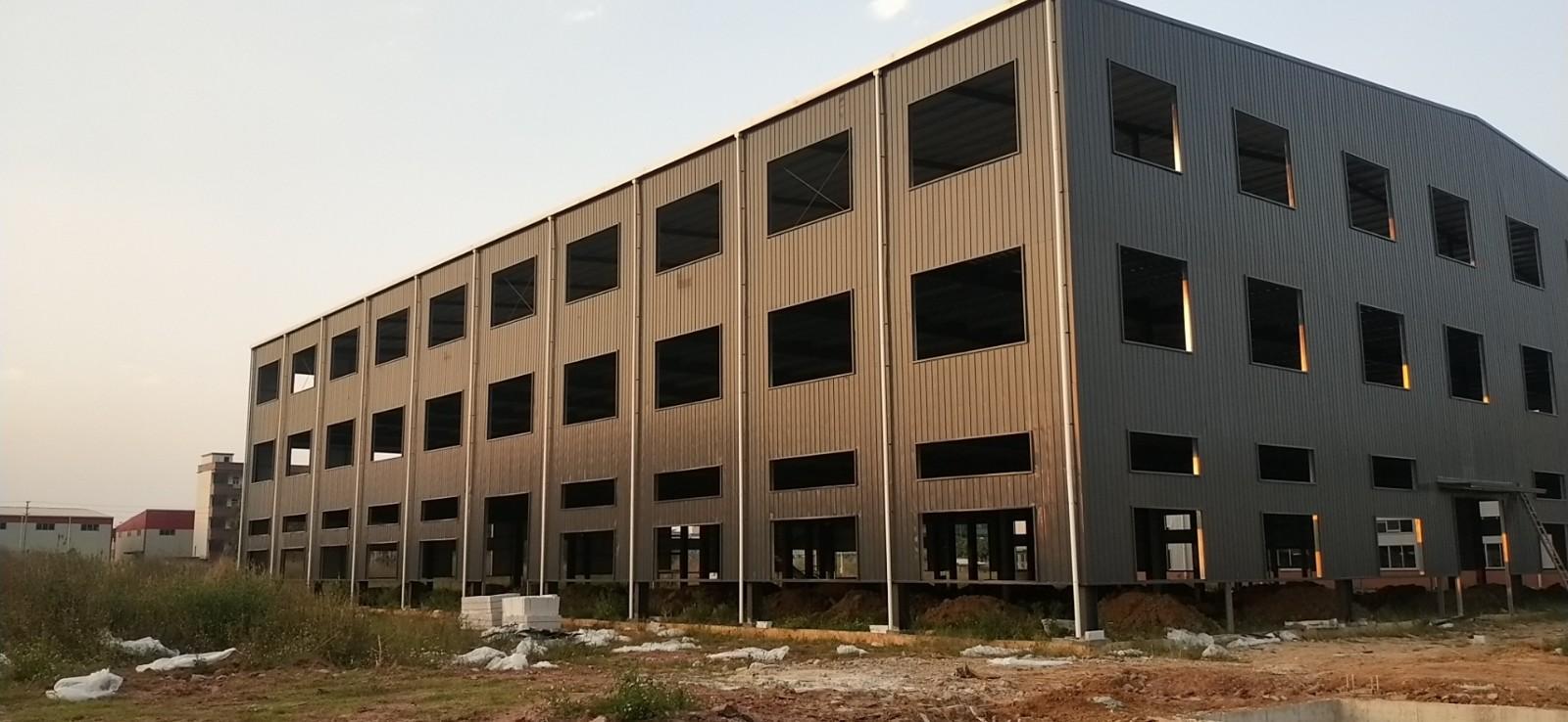 鋼結構框架廠房