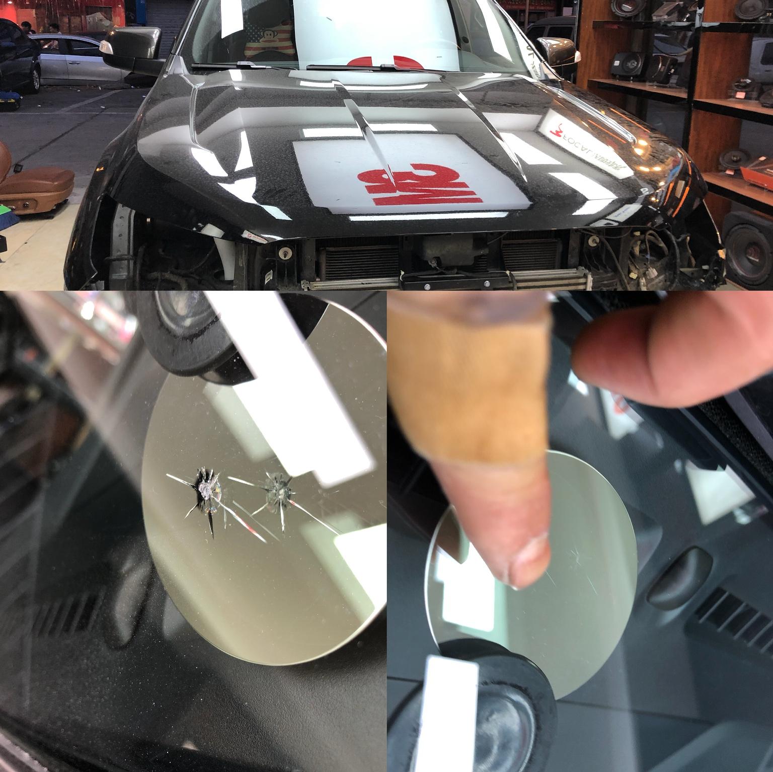 福特皮卡玻璃修补