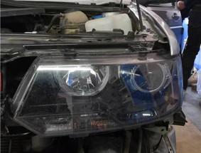 长春车灯捷达升级DYS LED双光透镜案例