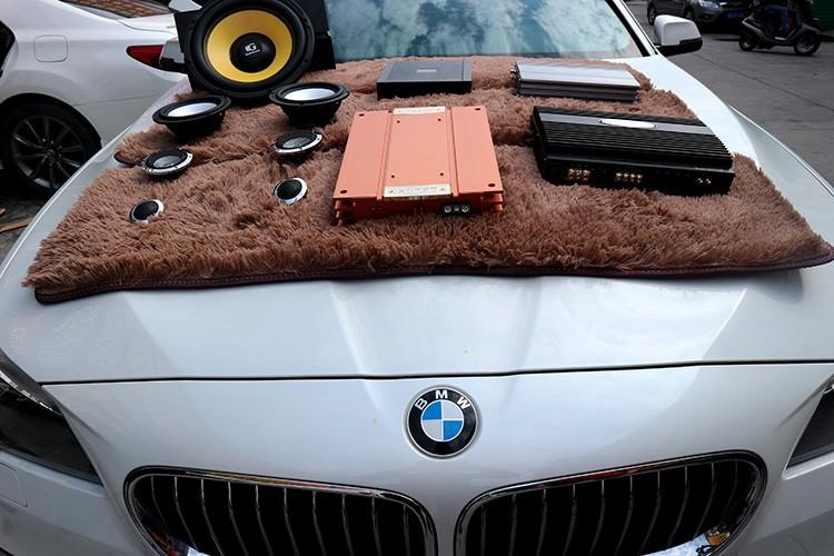 台州宝马5系 音响改装多少钱?台州慧声满足你对车载音响的所有要求!