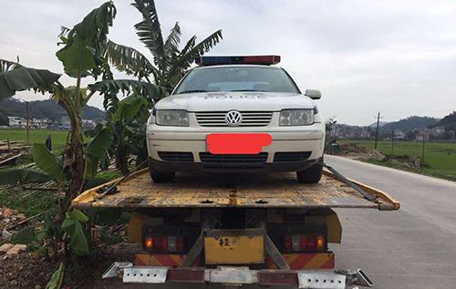 梧州道路救援 - 專業拖車