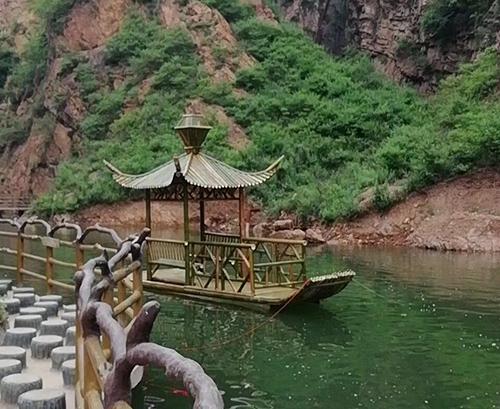 四川竹船搭建