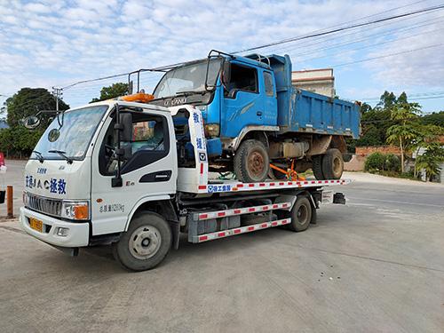 揭西拖车 - 平板拖车救援服务
