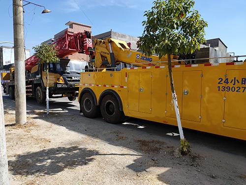 揭西大型汽车救援 - 道路拖车救援