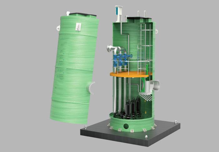 一体化泵站是什么-与传统泵站有什么区别