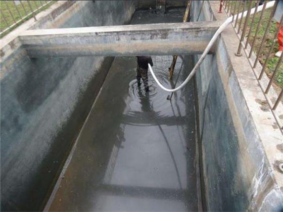 清理污水池