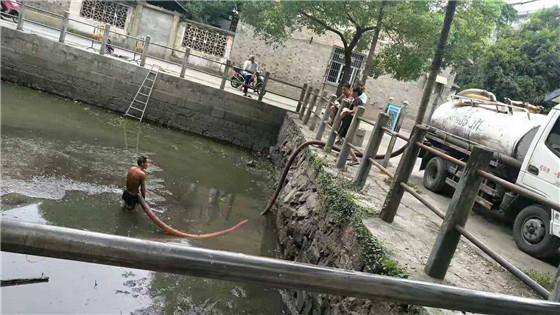 清理沉淀池