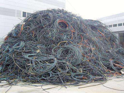 台州对废旧电缆回收的处理方法?