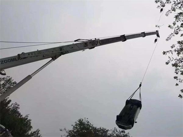 淄博困境吊车救援