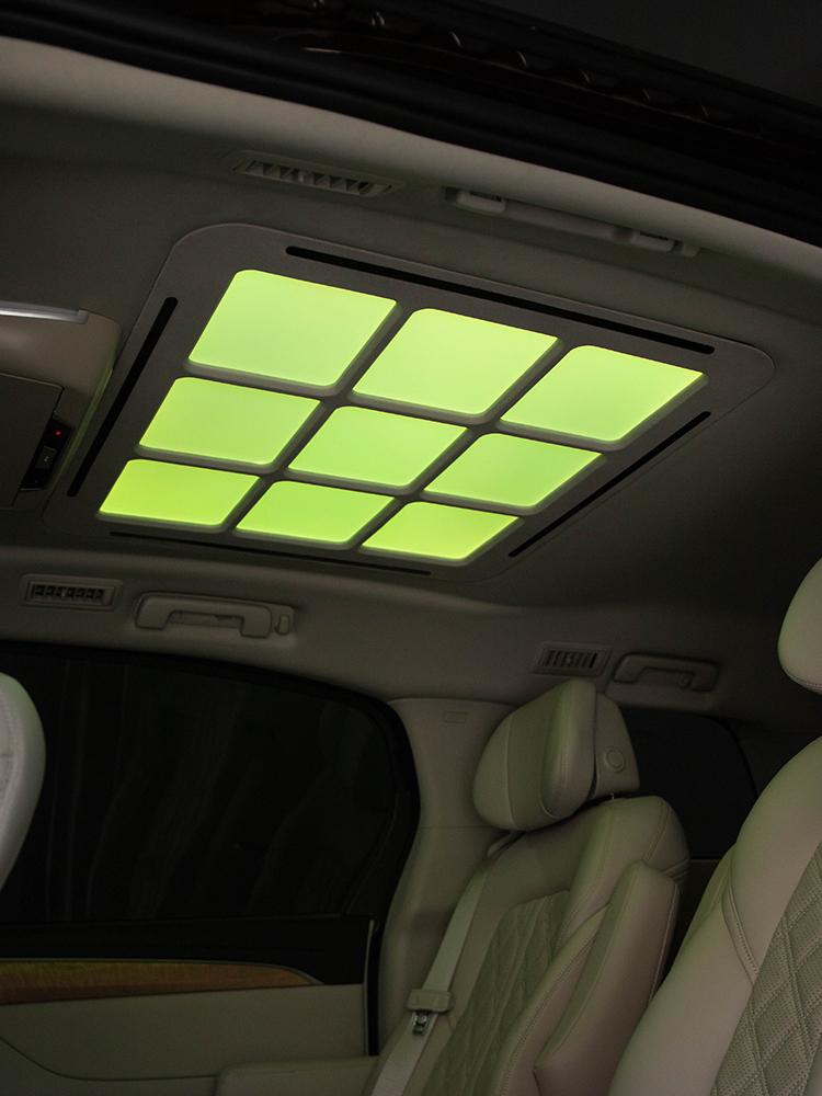 别克gl8/es28t九宫格顶棚灯云顶灯星空顶led车内饰升级改装氛围灯