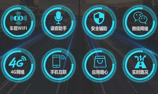 """""""东方启辰广汽传祺4G安卓智能语音大屏导航"""""""