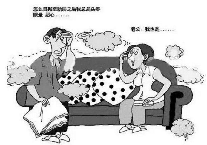 室內空氣污染體現在哪幾個方面