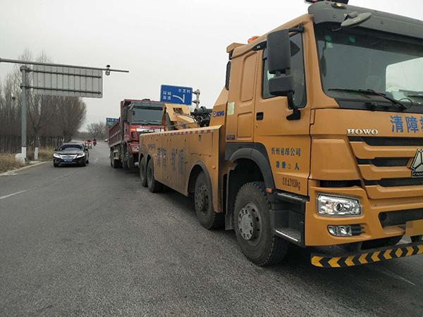 上海土方车救援拖车