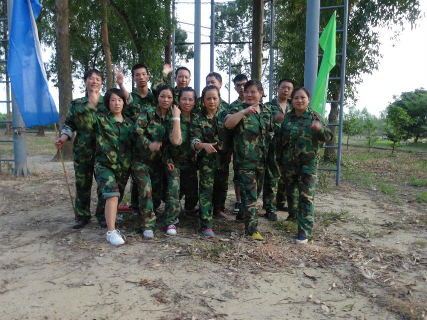 东莞野战活动能让学员们尽情地施展