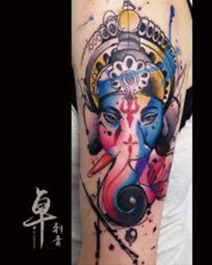 《厦门色彩纹身》色彩纹身图案_纹身色彩图片大全