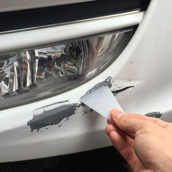 车身划痕修复三大方法