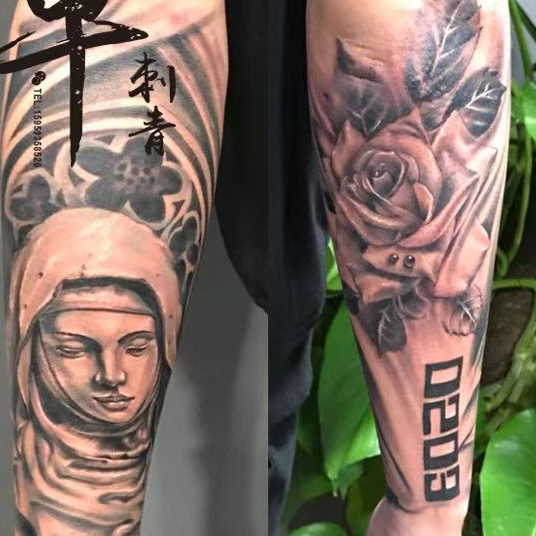 《厦门纹身》手上纹身图案