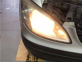 长春车灯奔驰威霆升级DYS LED S双光透镜案例