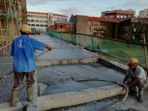 水泥发泡剂管线回填