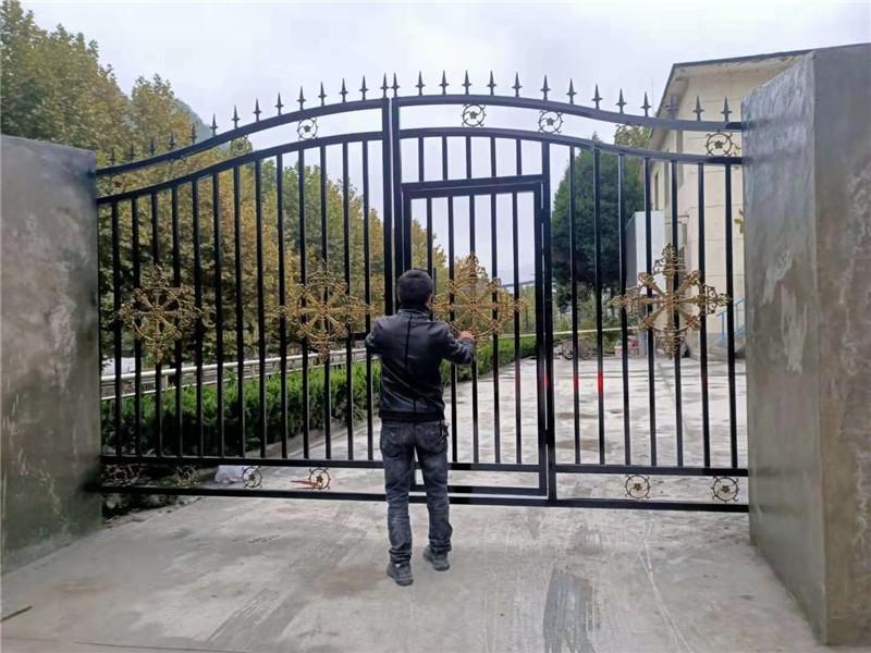 西安庭院铁艺大门