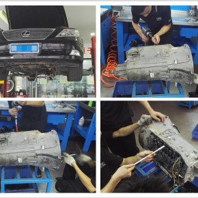 雷克萨斯460变速箱维修:3挡升4挡打滑
