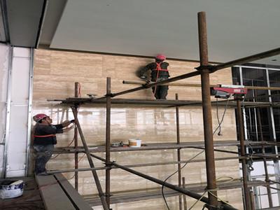 長沙大理石翻新施工案例