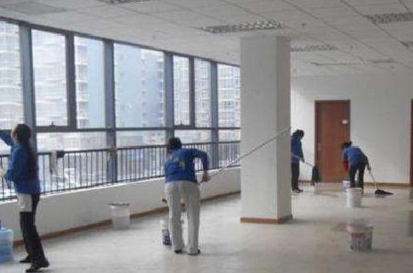 广州办公室开荒保洁