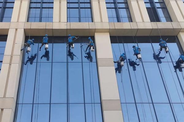 广州外墙清洁如何保证工作中的安全性