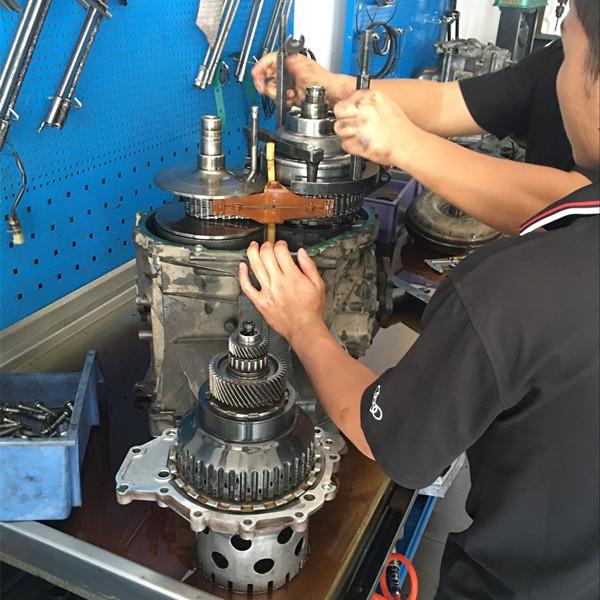 奥迪a7变速箱维修