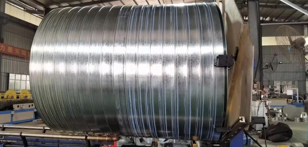 先进的螺旋风管生产设备