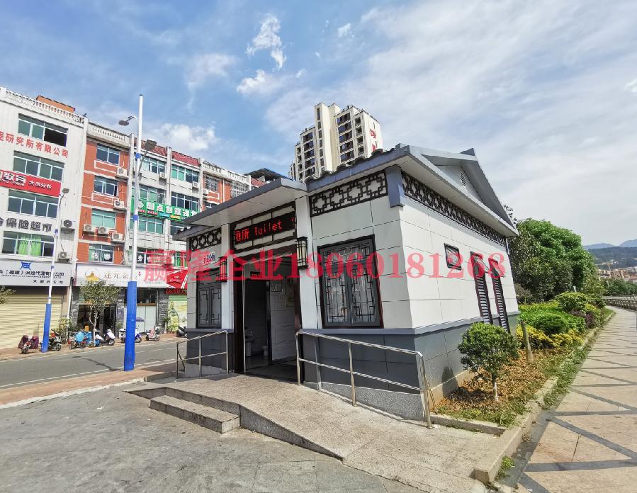 大田县均溪镇环保厕所