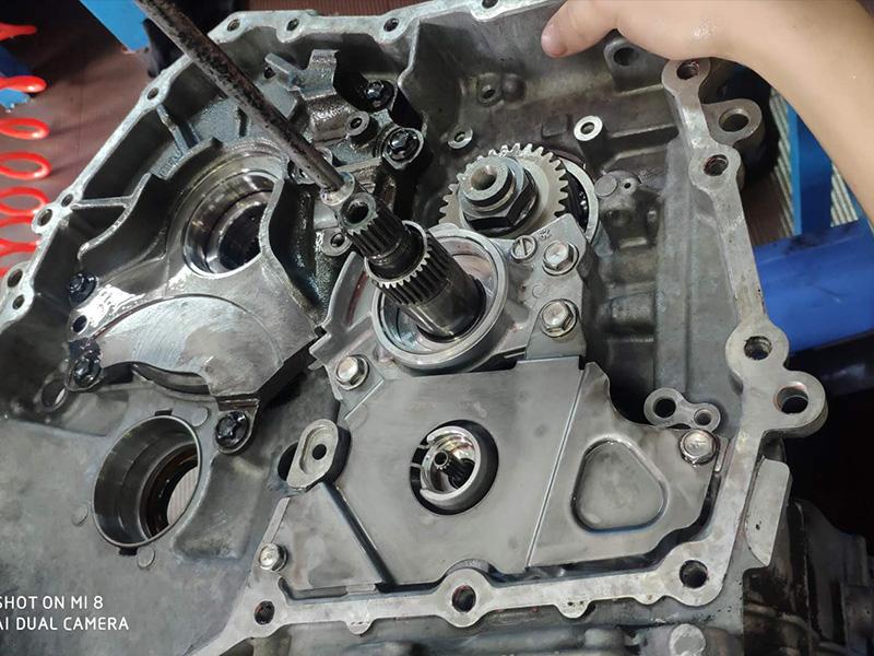 丰田自动变速箱维修