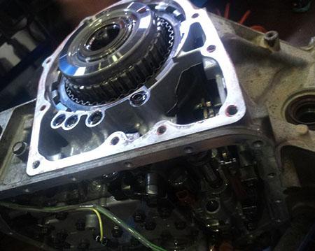 大众宝来自动变速箱维修