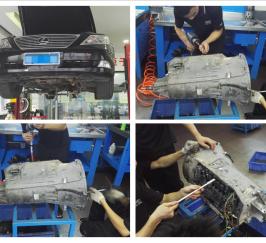 雷克薩斯460變速箱維修:3擋升4擋打滑