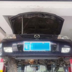 马自达自动变速箱维修:热车时行驶无力