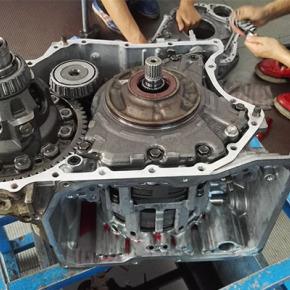 比亚迪F3变速箱维修:高速行驶后无法降档