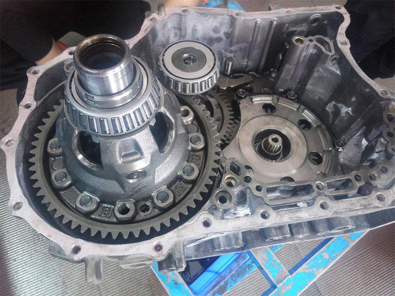 大众速腾自动变速箱维修
